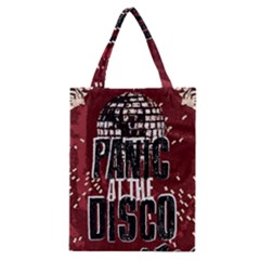 Panic At The Disco Poster Classic Tote Bag
