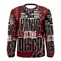 Panic At The Disco Poster Men s Long Sleeve Tee View1