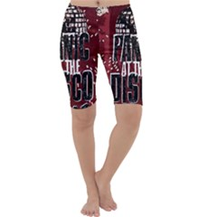 Panic At The Disco Poster Cropped Leggings