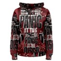 Panic At The Disco Poster Women s Pullover Hoodie View1