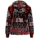 Panic At The Disco Poster Women s Pullover Hoodie View2