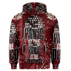 Panic At The Disco Poster Men s Zipper Hoodie