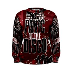 Panic At The Disco Poster Women s Sweatshirt
