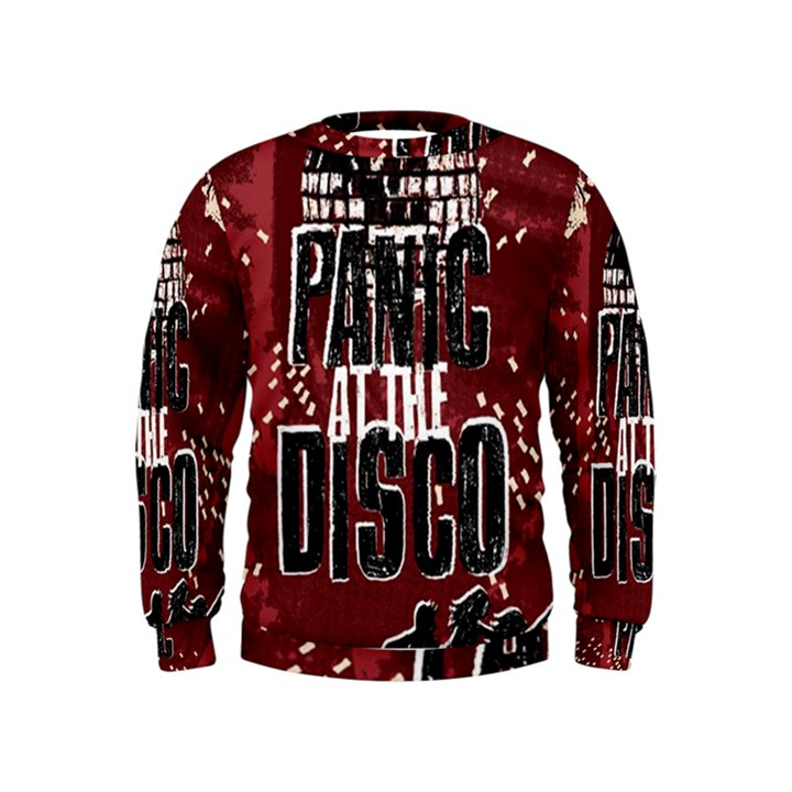 Panic At The Disco Poster Kids  Sweatshirt