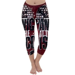 Panic At The Disco Poster Capri Winter Leggings
