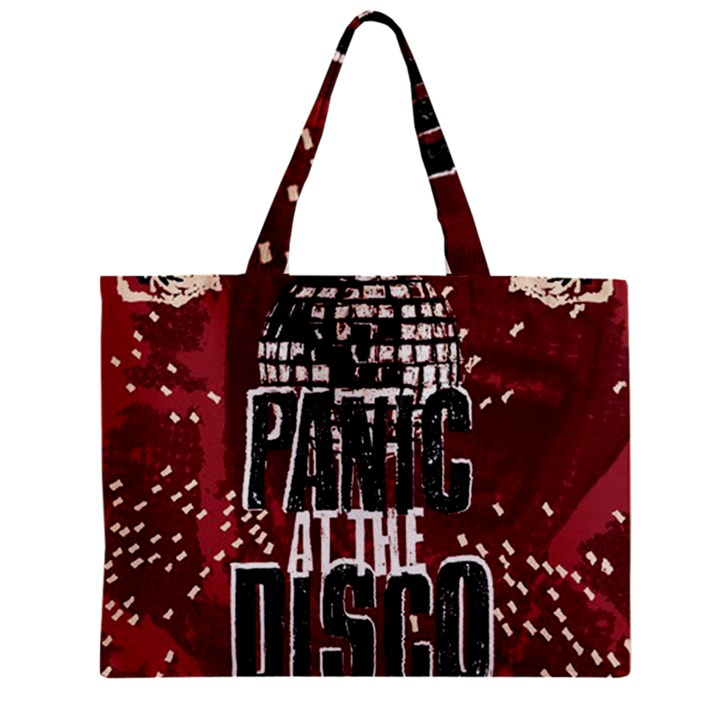 Panic At The Disco Poster Zipper Mini Tote Bag