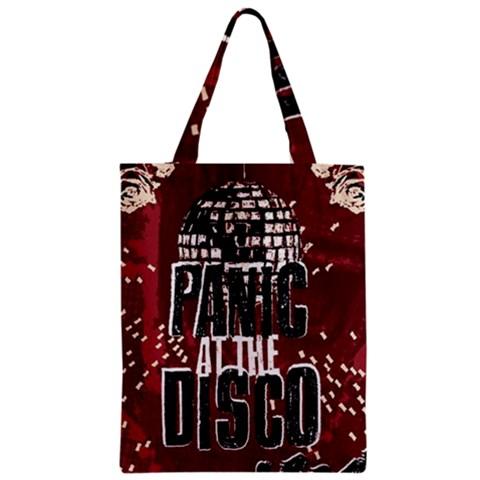 Panic At The Disco Poster Zipper Classic Tote Bag