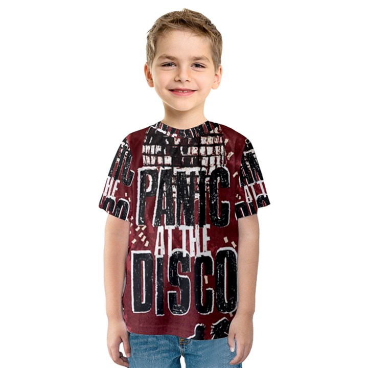 Panic At The Disco Poster Kids  Sport Mesh Tee