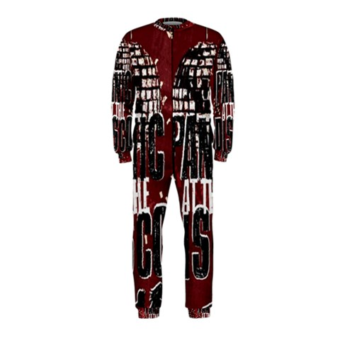 Panic At The Disco Poster OnePiece Jumpsuit (Kids)