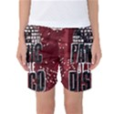 Panic At The Disco Poster Women s Basketball Shorts View1