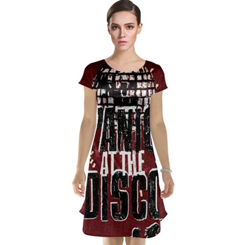 Panic At The Disco Poster Cap Sleeve Nightdress