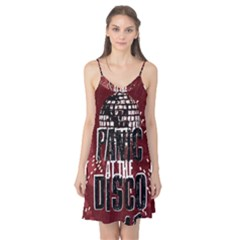 Panic At The Disco Poster Camis Nightgown