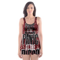 Panic At The Disco Poster Skater Dress Swimsuit