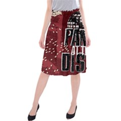 Panic At The Disco Poster Midi Beach Skirt