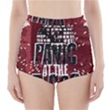 Panic At The Disco Poster High-Waisted Bikini Bottoms View1