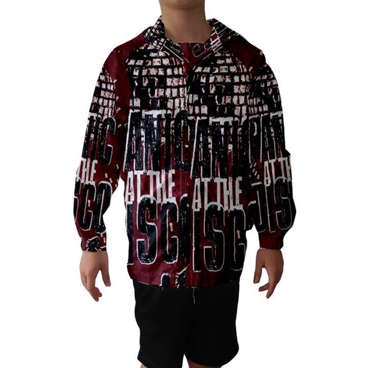 Panic At The Disco Poster Hooded Wind Breaker (Kids)