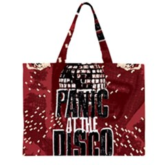 Panic At The Disco Poster Large Tote Bag