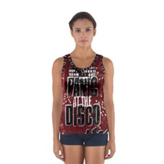 Panic At The Disco Poster Women s Sport Tank Top