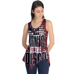 Panic At The Disco Poster Sleeveless Tunic