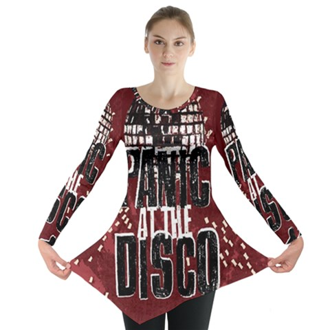 Panic At The Disco Poster Long Sleeve Tunic