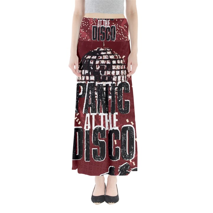 Panic At The Disco Poster Maxi Skirts