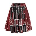 Panic At The Disco Poster High Waist Skirt View1