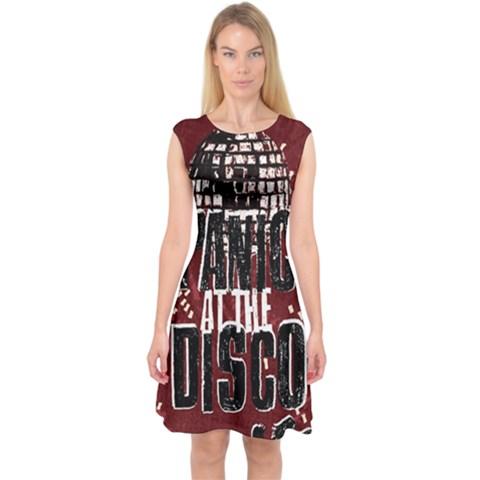 Panic At The Disco Poster Capsleeve Midi Dress