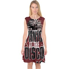 Panic At The Disco Poster Capsleeve Midi Dress