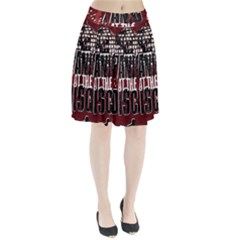 Panic At The Disco Poster Pleated Skirt