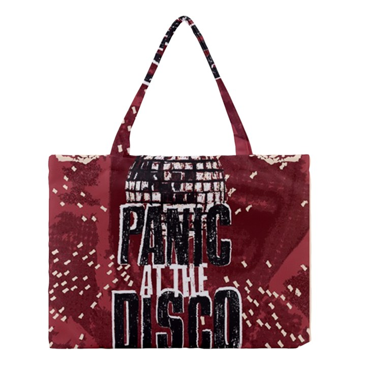 Panic At The Disco Poster Medium Tote Bag
