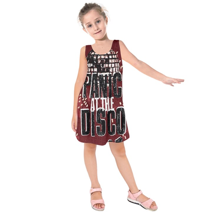 Panic At The Disco Poster Kids  Sleeveless Dress