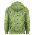 Tropical Floral Pattern Men s Pullover Hoodie View2