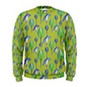 Tropical Floral Pattern Men s Sweatshirt View1
