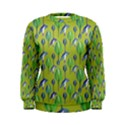 Tropical Floral Pattern Women s Sweatshirt View1