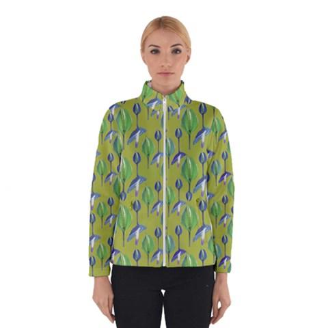 Tropical Floral Pattern Winterwear