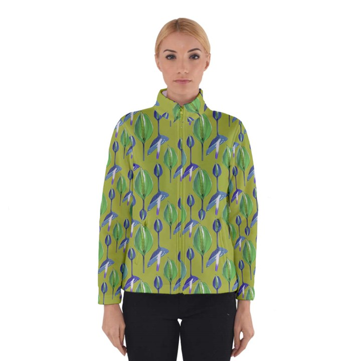 Tropical Floral Pattern Winterwear