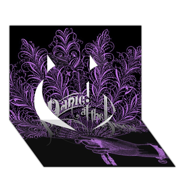 Panic At The Disco Heart 3D Greeting Card (7x5)
