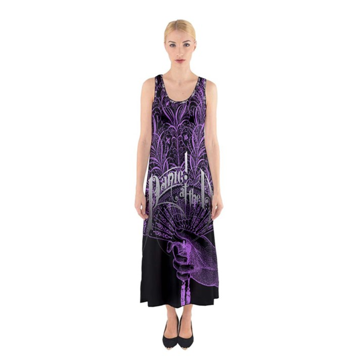 Panic At The Disco Sleeveless Maxi Dress