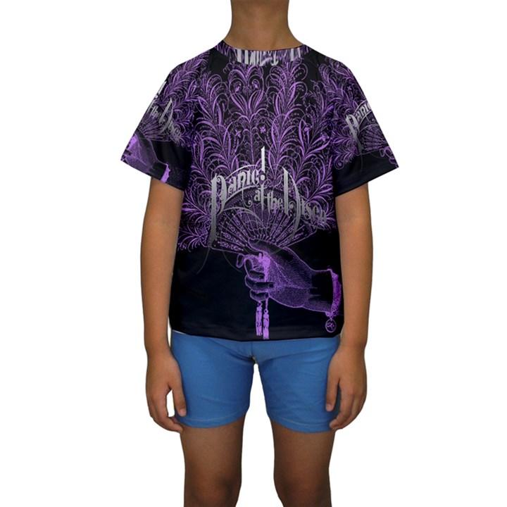 Panic At The Disco Kids  Short Sleeve Swimwear