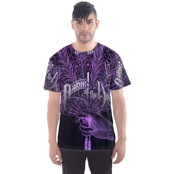 Panic At The Disco Men s Sport Mesh Tee