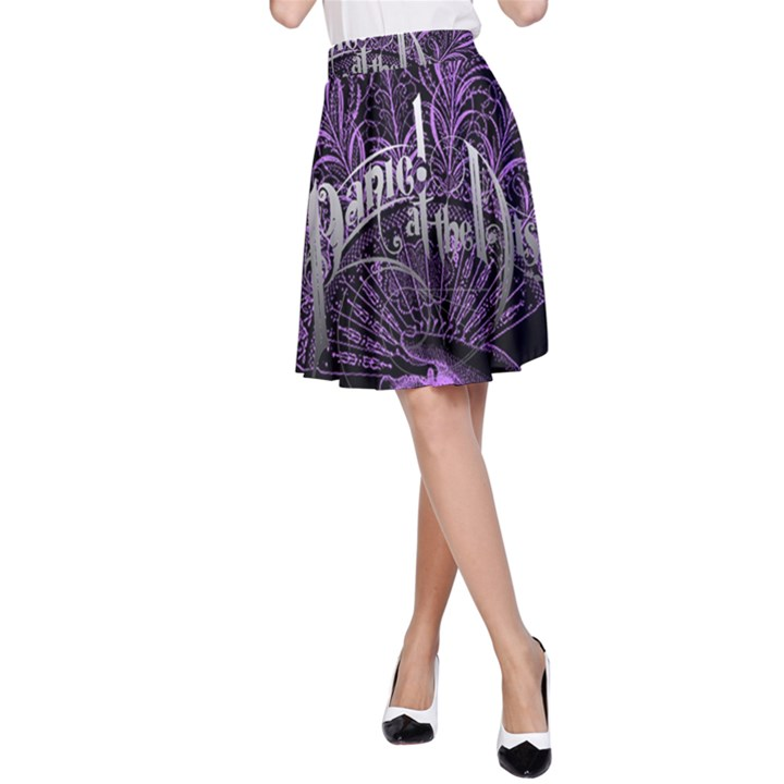 Panic At The Disco A-Line Skirt