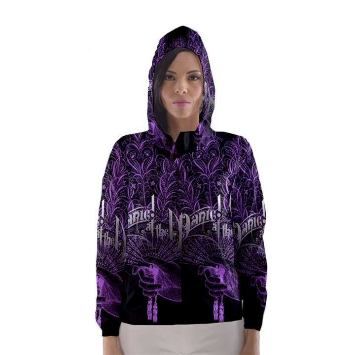 Panic At The Disco Hooded Wind Breaker (Women)