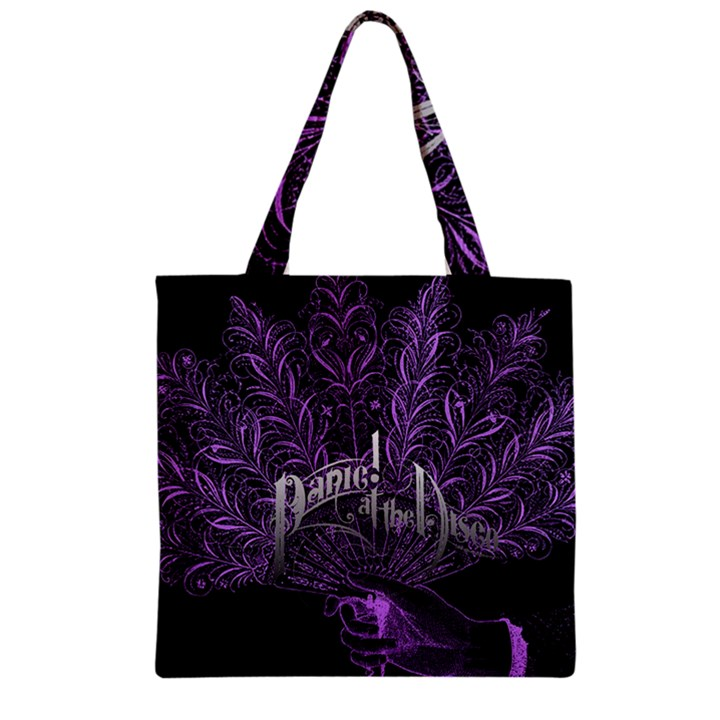 Panic At The Disco Zipper Grocery Tote Bag