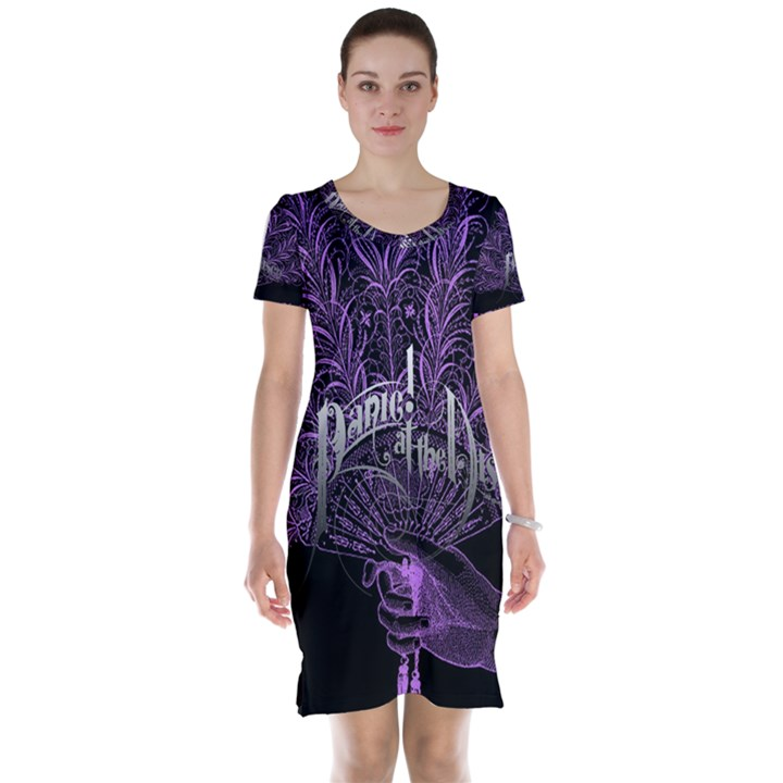 Panic At The Disco Short Sleeve Nightdress