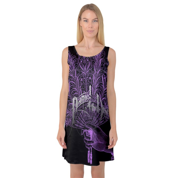 Panic At The Disco Sleeveless Satin Nightdress