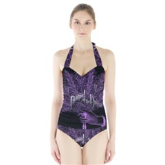 Panic At The Disco Halter Swimsuit