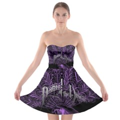 Panic At The Disco Strapless Bra Top Dress