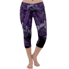 Panic At The Disco Capri Yoga Leggings