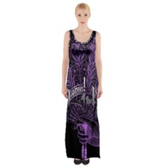 Panic At The Disco Maxi Thigh Split Dress