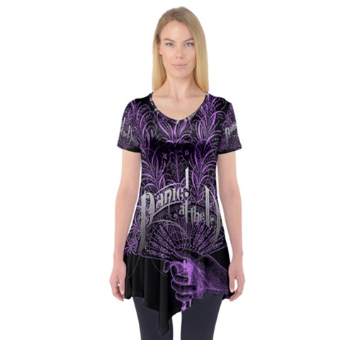 Panic At The Disco Short Sleeve Tunic